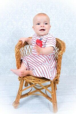 Wicker Chair Photography Prop