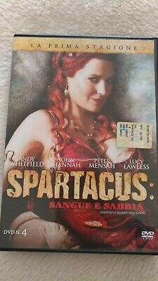 DVD SPARTACUS SANGUE E SABBIA 4 - PRIMA STAGIONE (Andy Whitfield, Lucy Lawless)