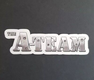 S201 A Team logo TV movie Sticker, Decal, laptop, wall, phone, tablet,