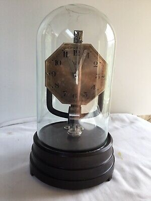 Vintage Bulle Junior Glass Domed Clock Electric Electromagnetic