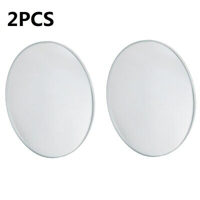 2pcs Auto Car Adjustable Stick Rear View Auxiliary Blind Spot Mirror Wide Angle