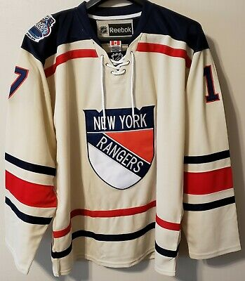 new product b06cb e3192 BRAND NEW TEAM Issued New York Rangers Winter Classic Jersey ...