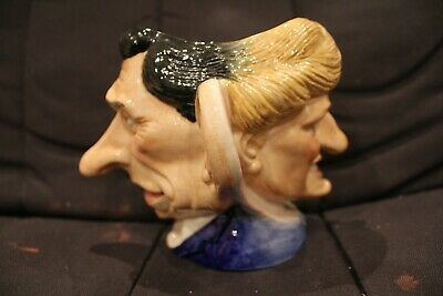 Kevin Francis Spitting Image Two-Faced Jug Of Charles And Diana