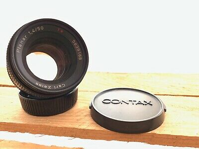 CARL ZEISS PLANAR T* 50mm f1.4 LENS CONTAX YASHICA FIT C/Y