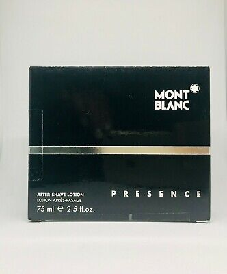 Mont Blanc - Presence After Shave Lotion 75ml - New & Rare