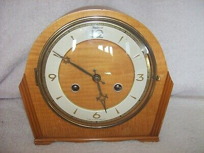 Vintage Art Deco Andrew Mantle Clock with Key