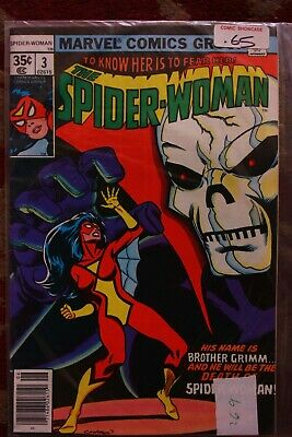 Spider Woman Vol.1 Issue 3 June 1978 Marvel Comics - The Peril of Brother Grimm