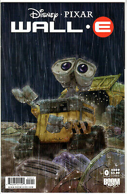 WALL-E # 0 Cover B!! 2009 DISNEY LOW PRINT 1ST APPEARANCE !! HARD TO FIND