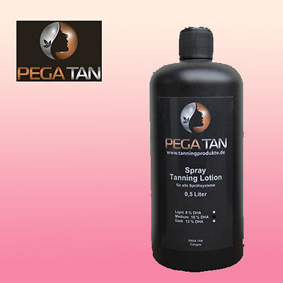 Airbrush / Spray Tanning 500 ml Direktbräunerlotion 14 % DHA