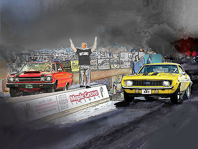 PUT YOUR RIDE in a  Street Outlaws drag race