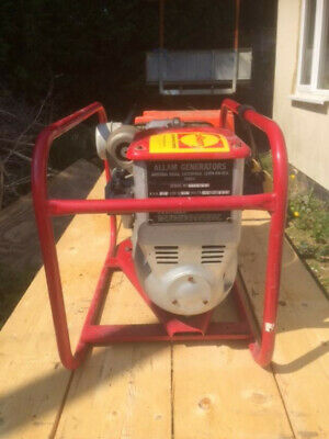 Allam Diesel Generator 2-5 Kva With Petter Engine Very Low Usage Easy Starter.