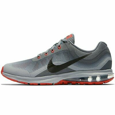reputable site af640 06406 Nike Air Max Dynasty 2 Wolf Grey Red Black 852430-013 Men s Running Shoes  NEW