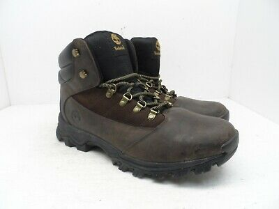 f2f61b2e NEW TIMBERLAND 9810R Rangeley Mid Brown Leather Hiking Mens Size 10 ...
