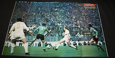 Football Poster Asse St Etienne V Bayern München Coupe European Cup Final 1976