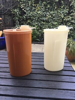Vintage Tupperware X2 Storage Comtainers