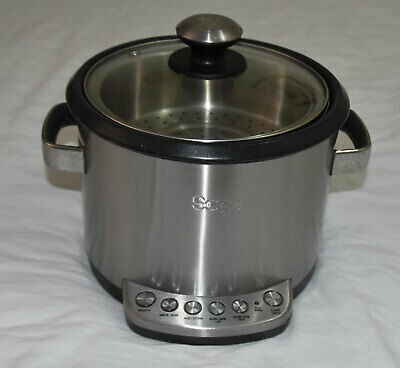 Sage by Heston Blumenthal Multi Cooker Risotto plus Slow Cooker Kitchen BRC600UK