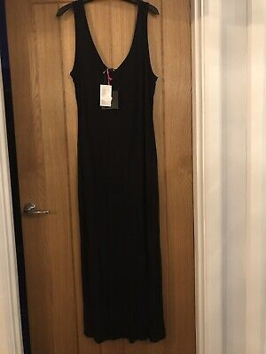 Black maxi dress size 16 from Very.