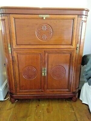 Beautiful Chinese Rosewood Wine & Drinks Cabinet