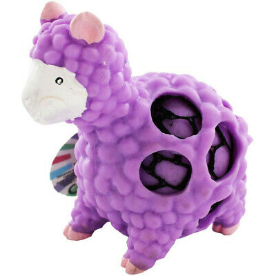 Large Squeezy Llama Mesh Ball - Assorted