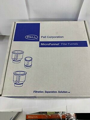 Pall Corporation 4800, MicroFunnel™ Disposable Filter Funnels