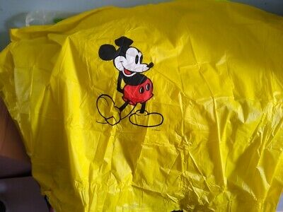 Disney Mickey Yellow Poncho Vintage
