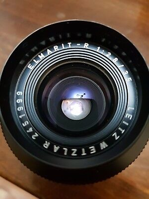 Leica Leitz ELMARIT-R 35mm F2.8 -  very good condition  mint   it's amazing