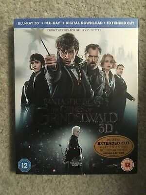 Fantastic Beasts 2 The Crimes of Grindelwald 3D Blu-ray+Blu-ray+Digital download