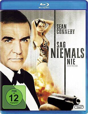 Never Say Never Again 007 Sean Connery IMPORT Blu-Ray NEW - Region Free!
