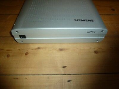 Siemens Unity 2 Audiometer with base, REM , complete set