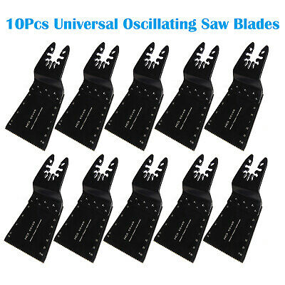 10 x 65mm OSCILLATING MULTI TOOL SAW BLADES Quick Release U for Bosch Multitool