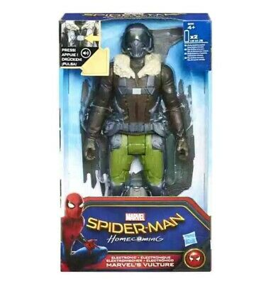 """Spider-Man Homecoming Electronic 12""""  Vulture Figure NEW"""