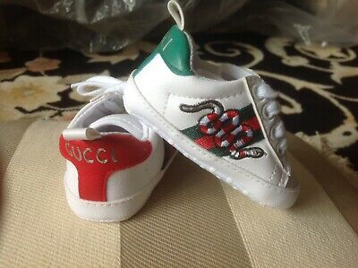 4863c254c87  365 GUCCI SNEAKERS Kids Baby Leopard Jaguar Calf Hair Hi Tops Web ...