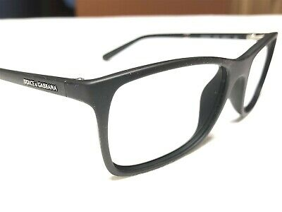 c1066bb868b2 Dolce   Gabbana DG5004 2616 Mens Black Rubberized Rx Eyeglasses Frames  53 17~135