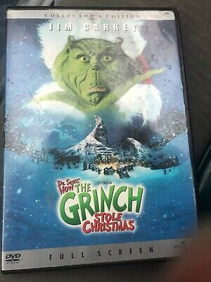 How the Grinch Stole Christmas (DVD, 2001, Full Frame)