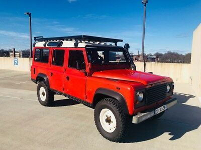 1986 Land Rover Defender Wagon Defender 110