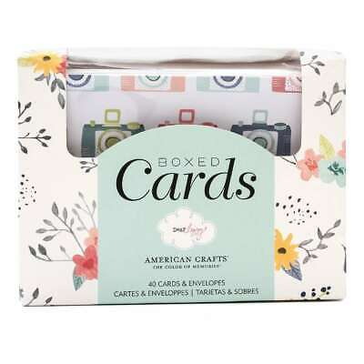 NEW American Crafts Dear Lizzy Boxed Cards By Spotlight