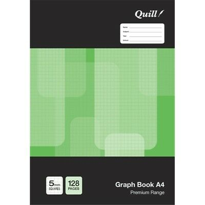 Quill A4 5mm Graph Book 96 Page 70480