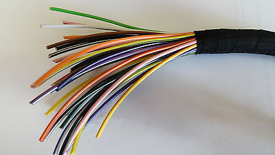 15m of 1mm² 16.5A thinwall copper wire cable CHOICE OF 70 COLOURS car marine