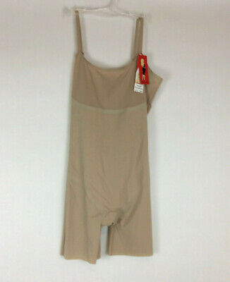 SPANX Womens Trust Your Thinstincts Slimming Mid Thigh Body Large 2217 NWT
