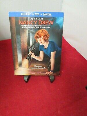 Nancy Drew And The Hidden Staircase (Blu Ray & DVD + Digital) w/slipcover NEW