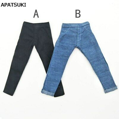 2pcs/lot Jeans Trousers For Ken Doll Clothes Pants For Boyfriend Prince Ken Doll