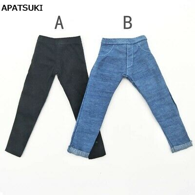 Handmade Jeans Trousers For Ken Doll Clothes Pants For Boy Doll Prince Ken 1/6