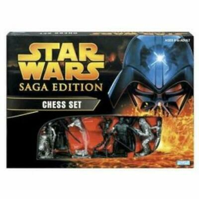 Parker Bros Star Wars Boardgame Star Wars Saga Edition Chess Set Box EX