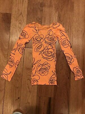 Girls Stretchy One Size Fits All Dance Shirt Exercise Shirts Dance Top
