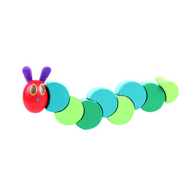 Wooden Colors Decoration Toys Caterpillars Educational Toys tracks Baby