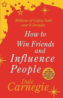 How To Win Friend And Influence People By  Dale Carnegie Paperback