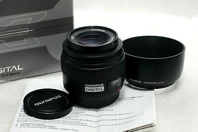Olympus Zuiko Digital 50mm f2 ED Macro Lens for Four Thirds Mount *Mint*