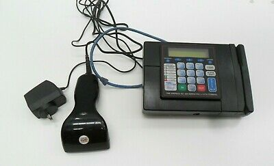 Employee Time Clock Terminal America 600  Badge Id Card Reader Scanner