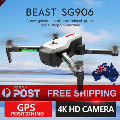 Beast SG906 5G Wifi GPS FPV Drone with 4K Camera Foldable RC Quadcopter Drone AU