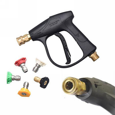 3000 PSI Max High Pressure Washer Gun with 5-color Water Washer nozzle,GMP 2.5